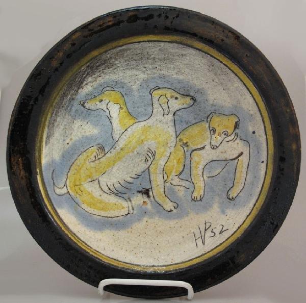 23: HENRY VARNUM POOR, ART POTTERY (1888-1970) diameter