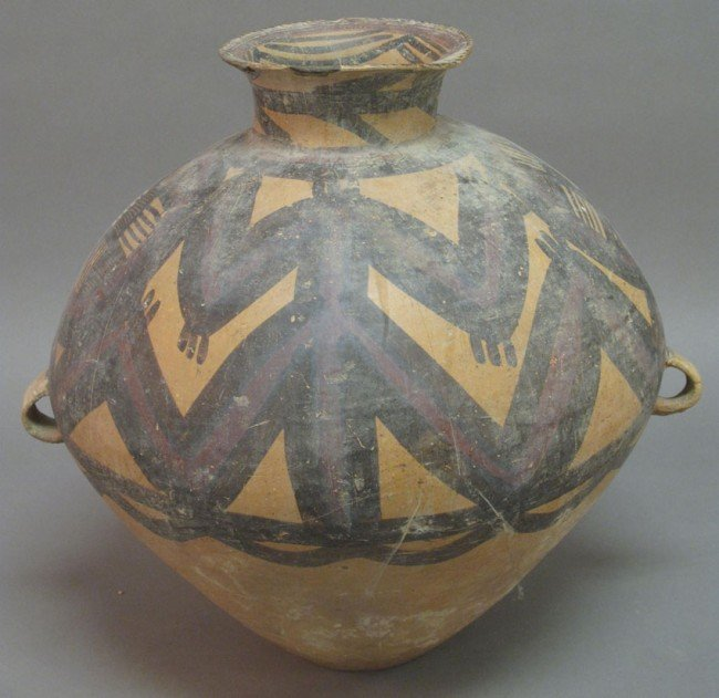 16: CHINESE PAINTED VESSEL 1st Millennium BC note: poss