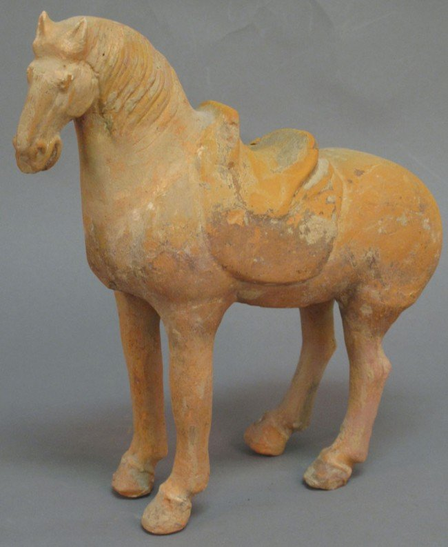 20: CHINESE MING DYNASTY HORSE  height: 13""