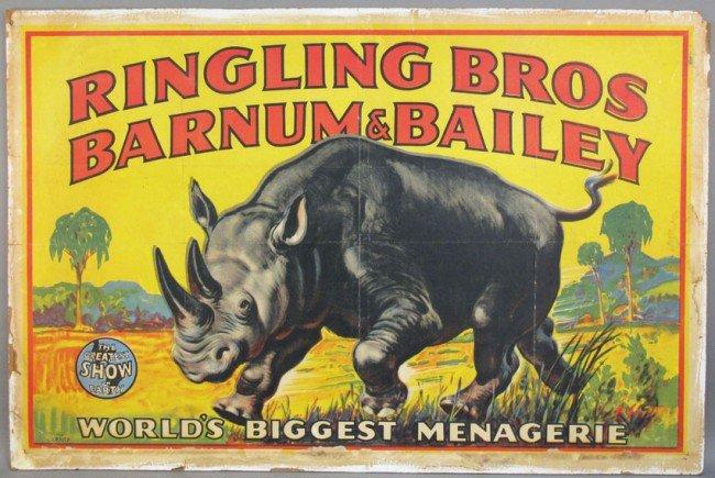 518: VINTAGE RINGLING BROTHERS BARMUN & BAILEY CIRCUS P