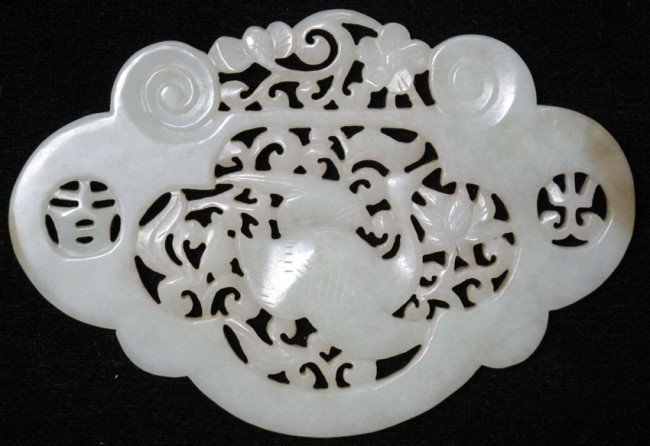 """17: CHINESE CARVED JADE length: 5"""""""
