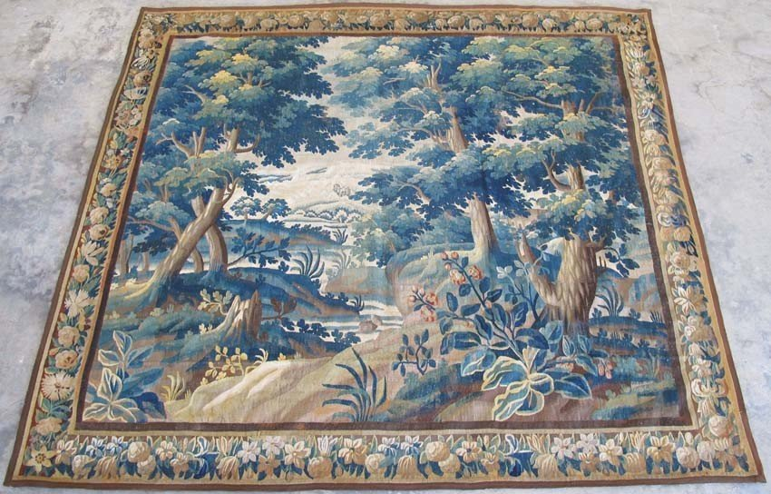 1010: FLEMISH BAROQUE TAPESTRY late 18th/19th century s