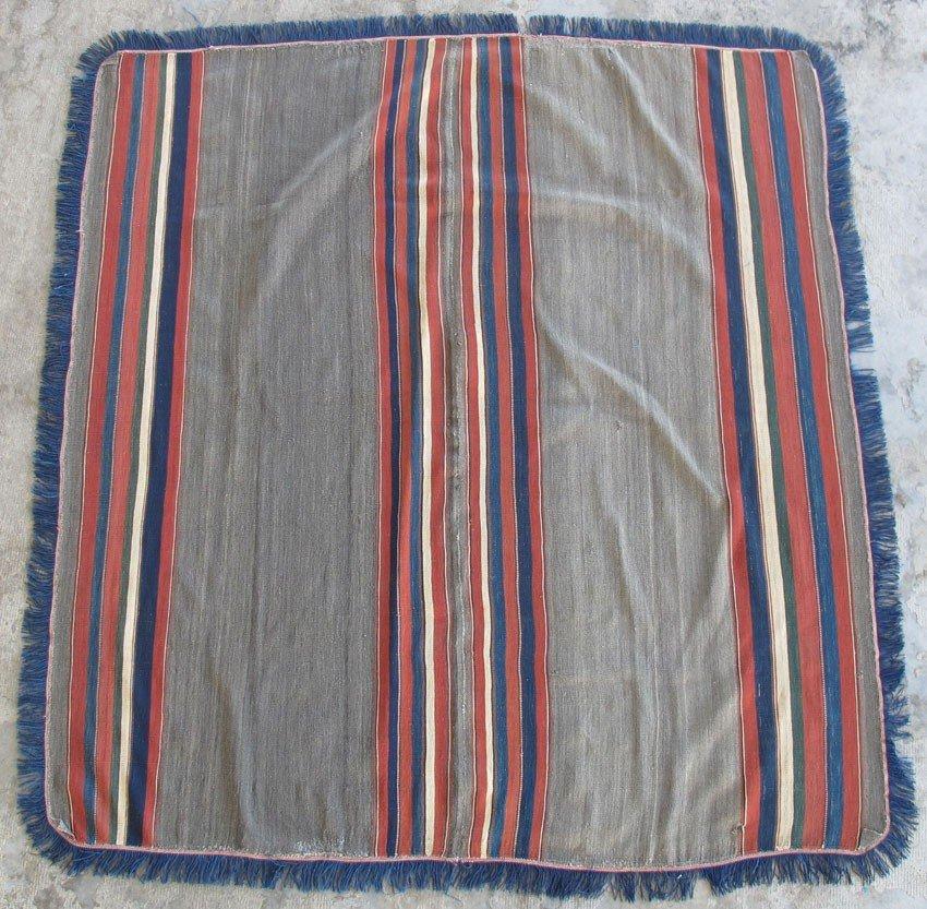 "108B: BOLIVIAN PONCHO circa 1875-1900's width: 61"", len"