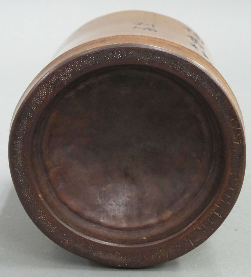 CHINESE BRUSH POT late 19th- early 20th century - 5