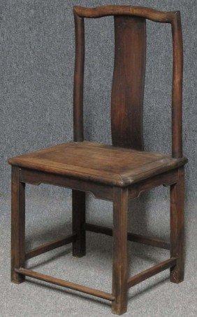 CHINESE HARDWOOD CHAIR Circa 19th Century Heigh