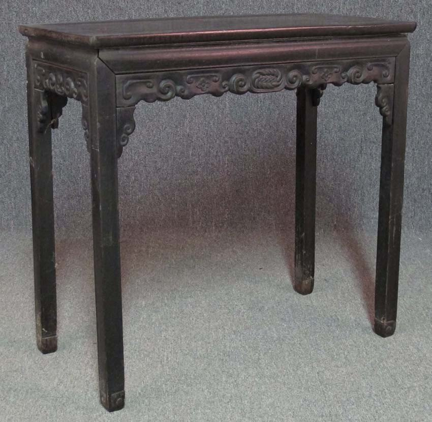 CHINESE SIDE TABLE circa 19th century height- 3