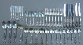 ASSORTMENT OF STERLING SILVER FLATWARE total pi