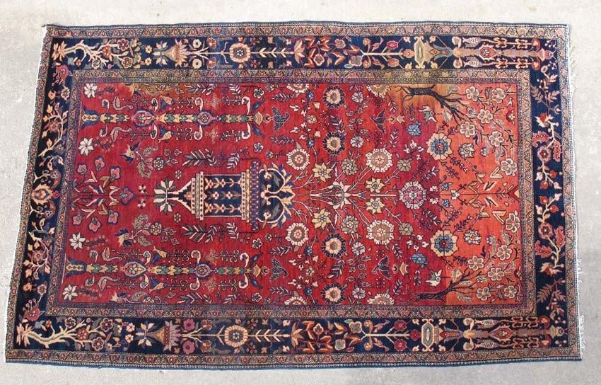 FARAHAN SAROUK PERSIAN CARPET circa early 20th