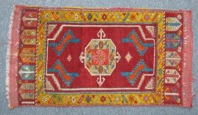 CAUCASIAN TRIBAL CARPET Circa Late 19th- Early