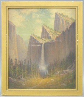JAMES EVERETT STUART (1852-1941), Indian Encamp