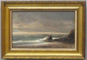 NORTON BUSH (1834-1894) O/C, Lands End, San Fra