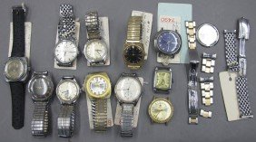 ASSORTMENT OF VINTAGE WATCHES