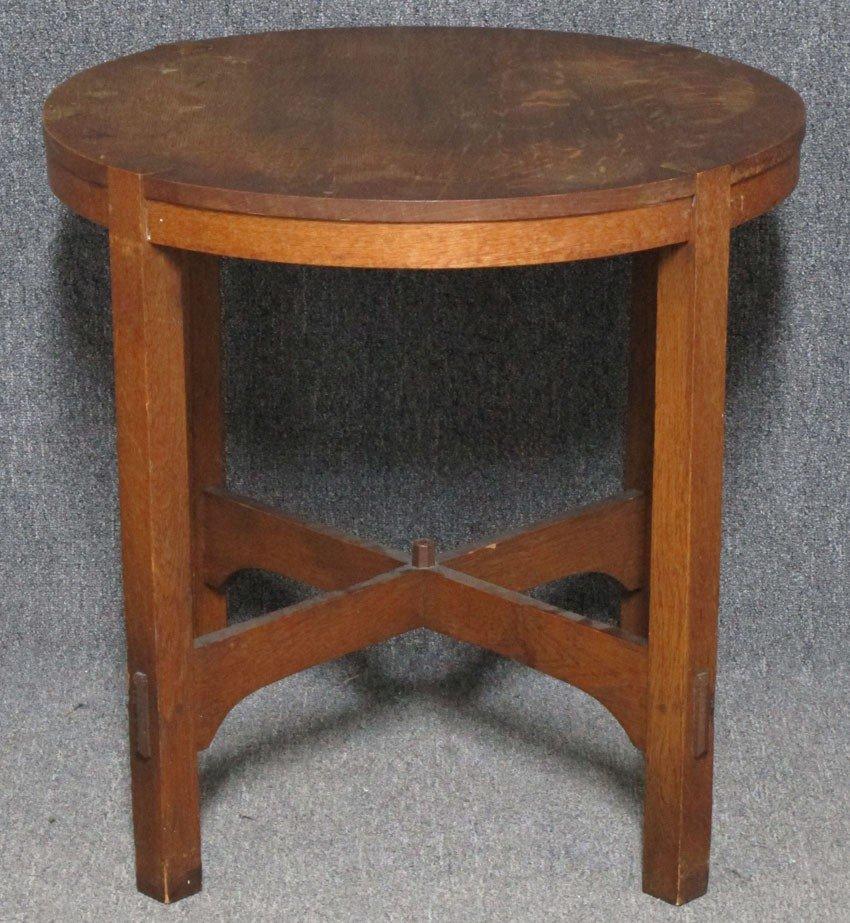 9034A: L & JG STICKLEY CENTER TABLE