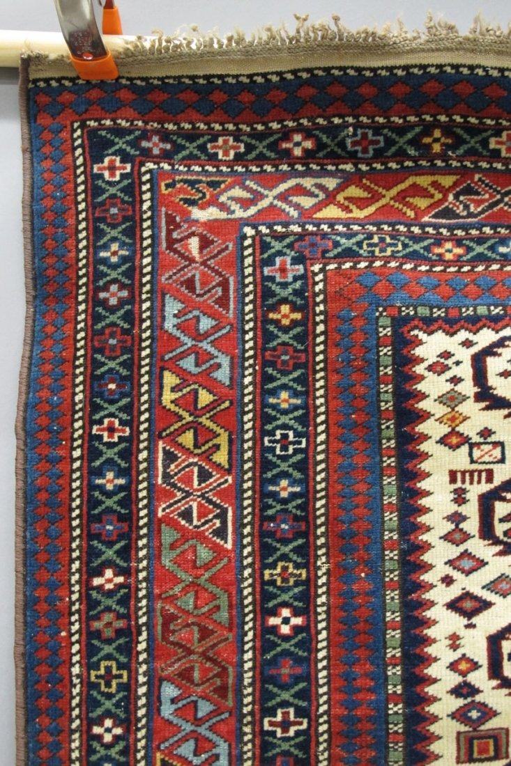 "9121: EARLY TRIBAL PERSIAN CARPET size- 49"" x 55""  - 2"