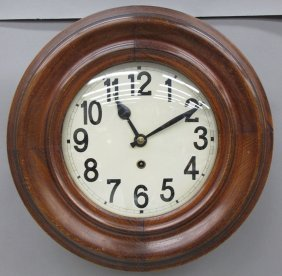 ENGLISH GALLERY CLOCK Diameter- 14""
