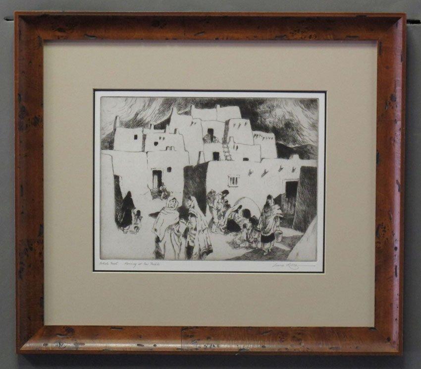 9177: GENE KLOSS, artist proff Title- Morning at the Pu
