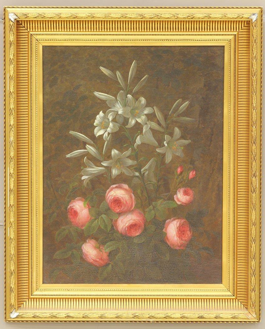 7973: JOHAN-LAURENTS JENSEN (1800-1856) OIL ON CANVAS s