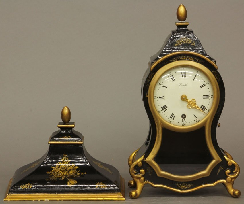 EARLY 20TH CENTURY FRENCH STYLE CLOCK with wall mount s