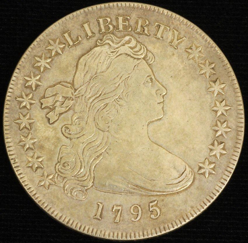 AMERICAN FULL BUST LIBERTY 1795 SILVER DOLLAR