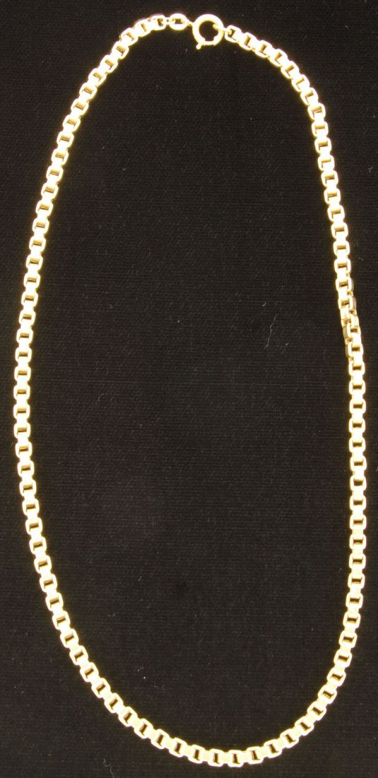 Stamped 750 Gold Necklace