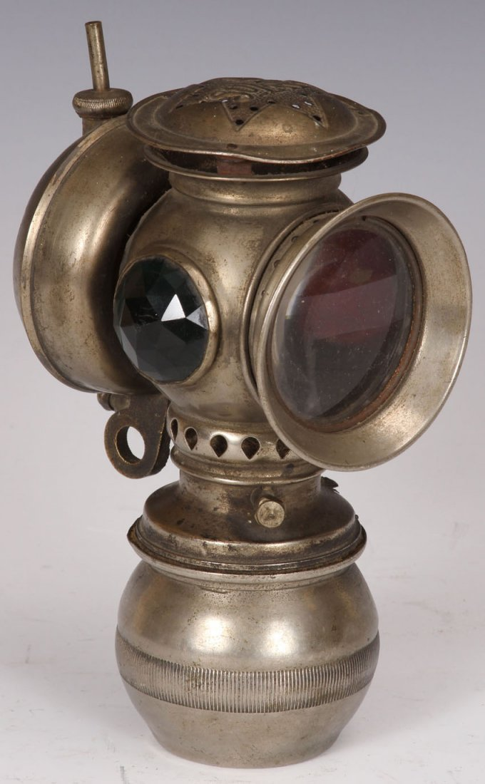 LATE VICTORIAN KEROSENE LAMP