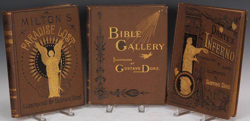 LOT OF (3) GUSTAVE DORE ILLUSTRATED BOOKS
