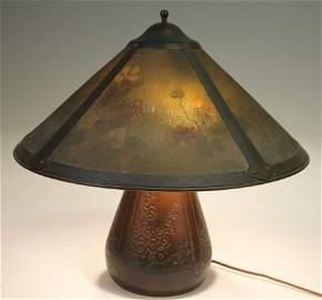 LILLIAN PALMER HAMMERED COPPER LAMP