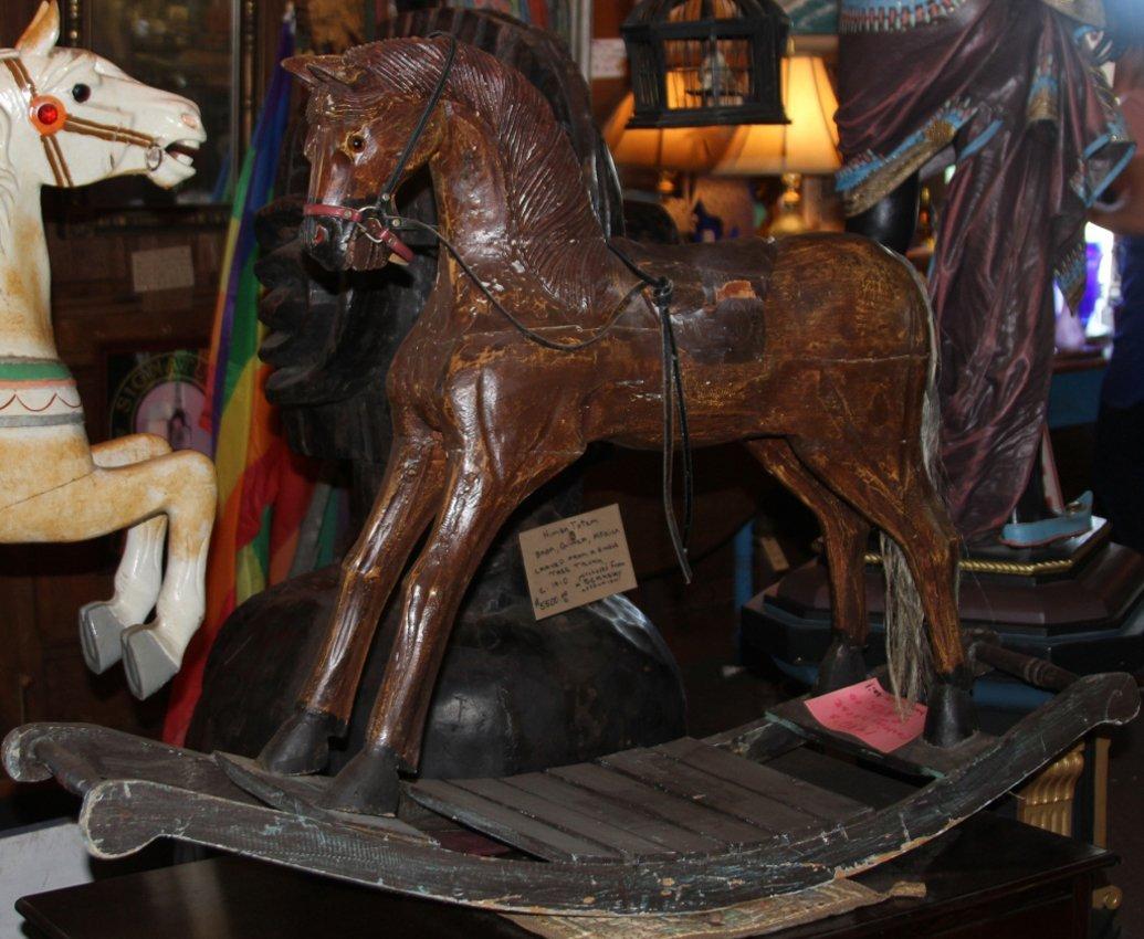 1930'S VINTAGE ROCKING HORSE