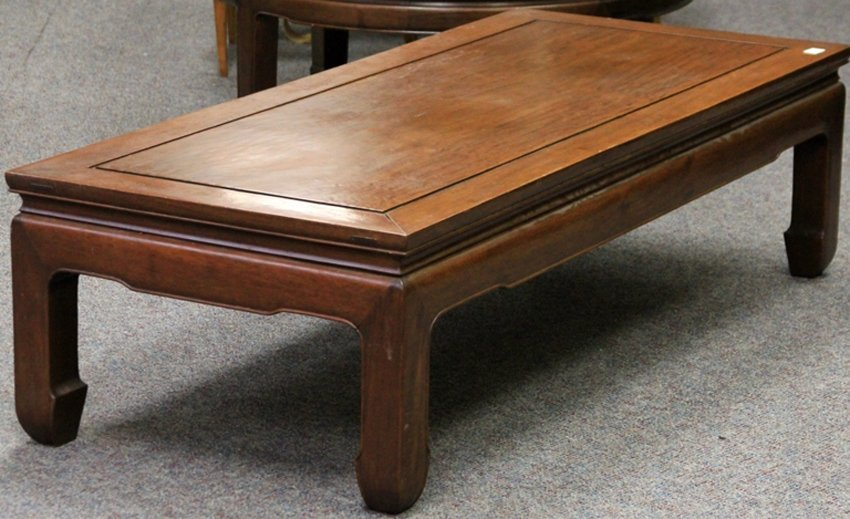 VINTAGE CHINESE ROSEWOOD COFFEE TABLE