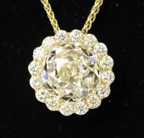 CROWN OF LIGHT 14.12 CARAT DIAMOND