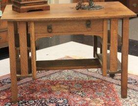 Stickley Brothers Oak Writing Desk