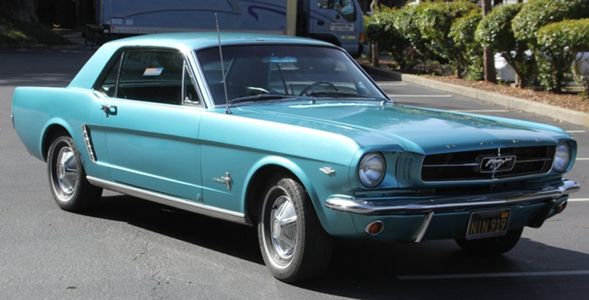 1965 FORD MUSTANG, 289/C4 AUTOMATIC