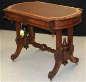 AMERICAN RENAISSANCE REVIVAL LIBRARY TABLE