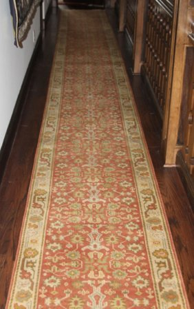 Pair Of Persian Style Hall Runners