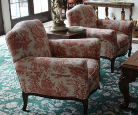 Pair Of French Parlor Chairs