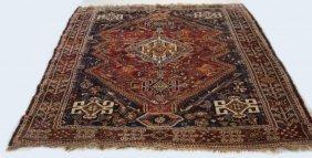 Vintage Tribal Woven Area Carpet