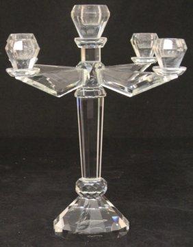 Crystal Five Light Candelabra
