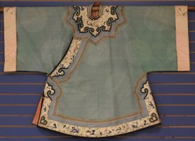 Early Chinese Women's Robe, 19th Century