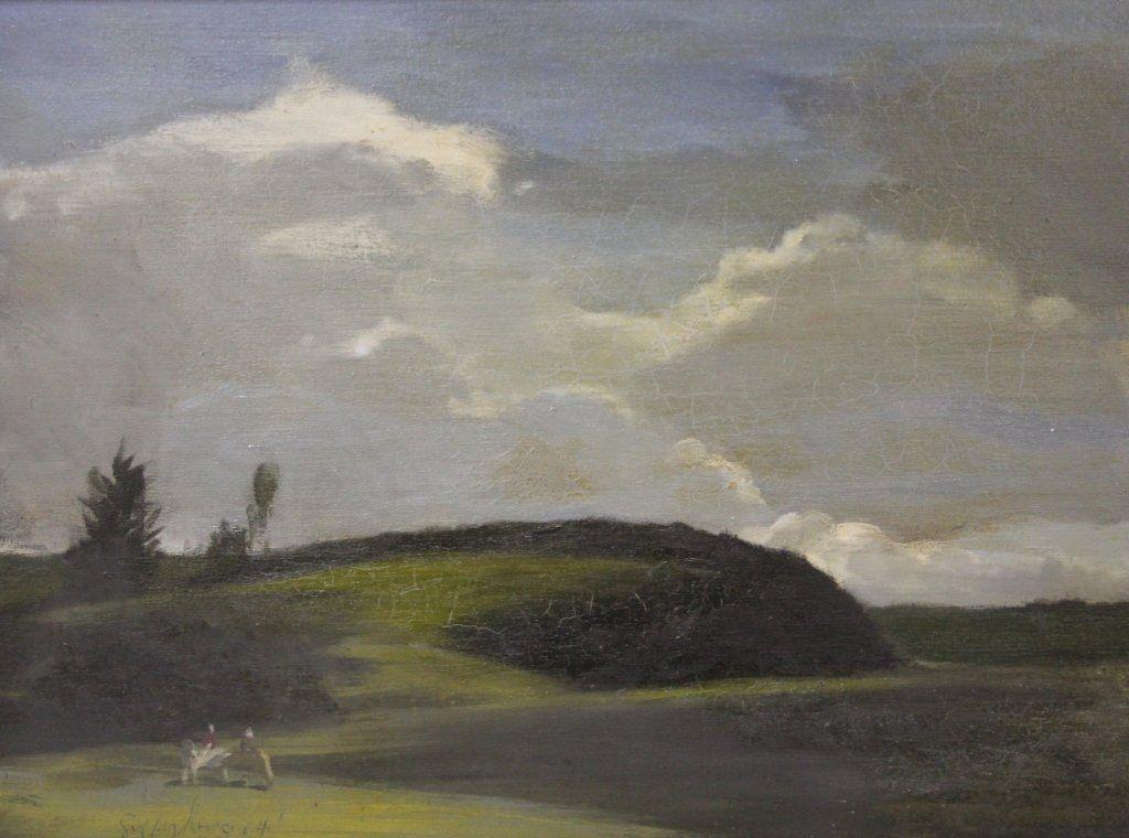 GEOFFREY LEWIS, OIL ON CANVAS