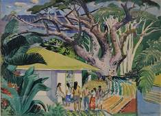 MILLARD SHEETS (1907-1989), WATERCOLOR