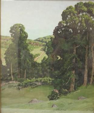 BEN FOSTER (1852-1926), OIL ON CANVAS