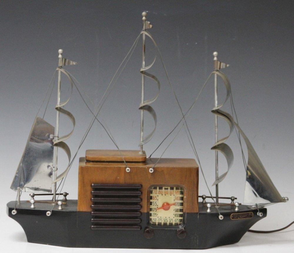 VINTAGE 1940'S SHIP RADIO