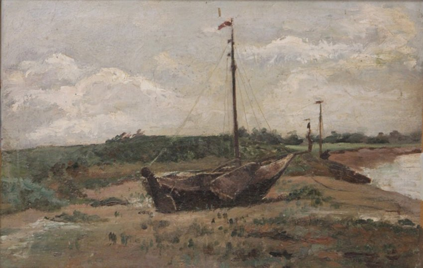 FRENCH 19TH CENTURY, OIL ON CANVAS