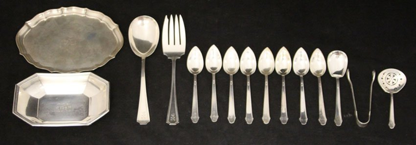 LOT OF (15) STERLING SILVER