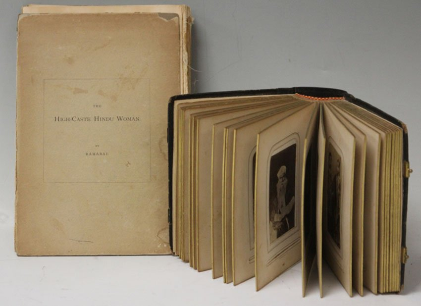 LOT OF (2)- 19TH CENTURY PHOTO PRINTS OF INDIA