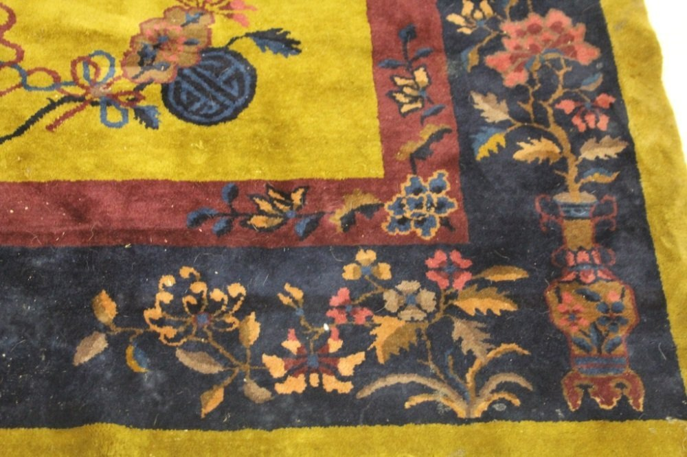 CHINESE VINTAGE CARPET, ROOMSIZE - 2