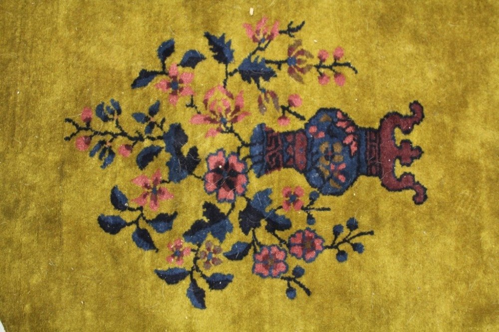 CHINESE VINTAGE CARPET, ROOMSIZE - 4