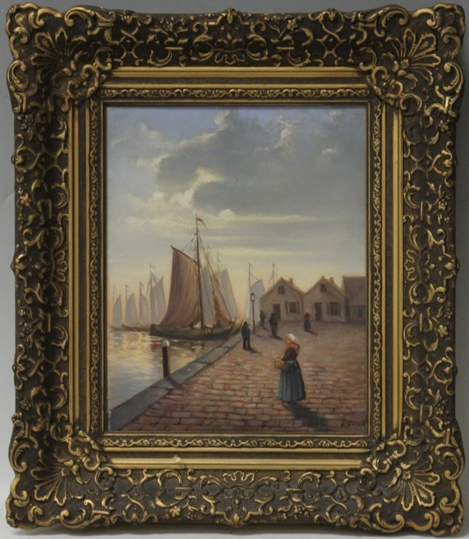EARLY 20TH CENTURY OIL ON CANVAS - 2