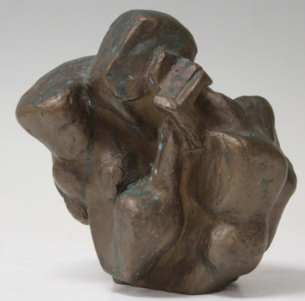 ERNST NEIZVESTNY (1926-2016), MOTHER &CHILD BRONZE