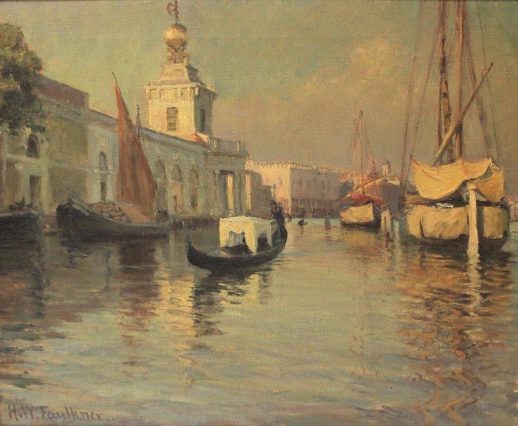 HERBERT WALDRON FAULKER (1860-1940), OIL ON CANVAS